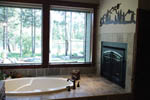European House Plan Master Bathroom Photo 02 - Harrisburg Lake Craftsman Home 011D-0043 | House Plans and More