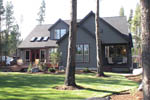 European House Plan Rear Photo 02 - Harrisburg Lake Craftsman Home 011D-0043 | House Plans and More