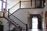 European House Plan Stairs Photo 01 - Harrisburg Lake Craftsman Home 011D-0043 | House Plans and More