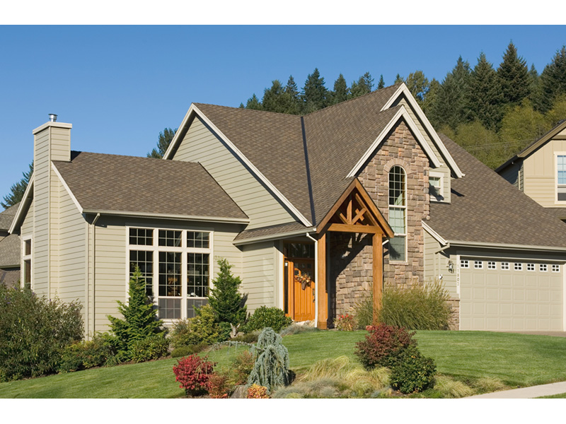 Tudor House Plan Entry Photo 01 - Fawn Canyon Tudor Style Home 011D-0046   House Plans and More