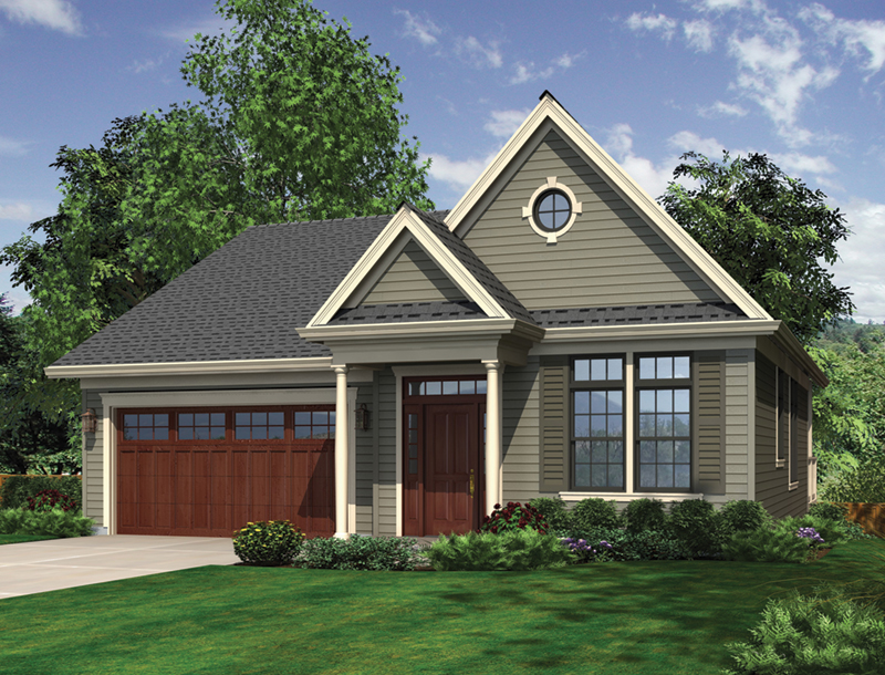 Front of Home -  011D-0069 | House Plans and More