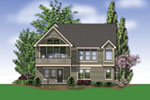 Rear Photo 01 -  011D-0069 | House Plans and More