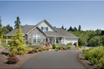 Country House Plan Driveway Photo - Washington Craftsman Home 011D-0091 | House Plans and More
