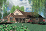 Country House Plan Front Image - Washington Craftsman Home 011D-0091 | House Plans and More