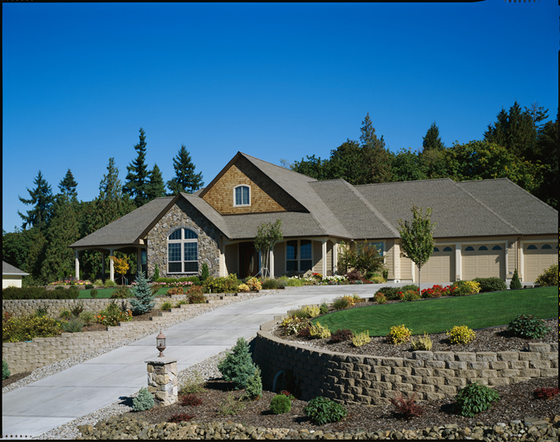 Country House Plan Front of Home - Washington Craftsman Home 011D-0091 | House Plans and More