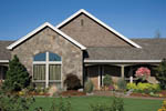 Country House Plan Front Photo 07 - Washington Craftsman Home 011D-0091 | House Plans and More