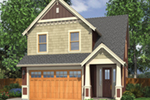 Shingle House Plan Front of House 011D-0117