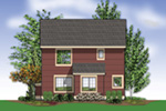 Arts & Crafts House Plan Color Image of House - Mallory Creek Craftsman Home  011D-0117 | House Plans and More