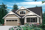Arts & Crafts House Plan Front of Home -  011D-0124 | House Plans and More