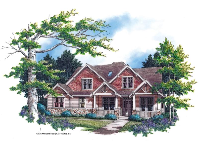 Craftsman House Plan Front Image - Grandboro Craftsman Home 011D-0169 | House Plans and More