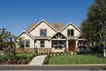 Craftsman House Plan Front Photo 05 - Grandboro Craftsman Home 011D-0169 | House Plans and More