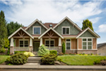 Craftsman House Plan Front Photo 07 - Grandboro Craftsman Home 011D-0169 | House Plans and More