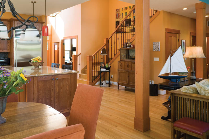 Craftsman House Plan Kitchen Photo 01 - Grandboro Craftsman Home 011D-0169 | House Plans and More
