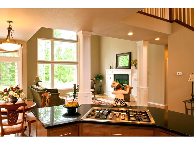 Craftsman House Plan Kitchen Photo 03 - Grandboro Craftsman Home 011D-0169 | House Plans and More