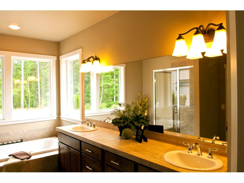 Craftsman House Plan Master Bathroom Photo 01 - Grandboro Craftsman Home 011D-0169 | House Plans and More
