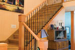 Craftsman House Plan Stairs Photo - Grandboro Craftsman Home 011D-0169 | House Plans and More