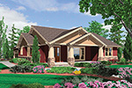 Craftsman House Plan Front Image - Thistle Hill Country Bungalow 011D-0225 | House Plans and More