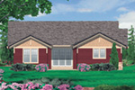 Craftsman House Plan Color Image of House - Thistle Hill Country Bungalow 011D-0225 | House Plans and More
