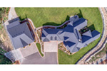 Country House Plan Aerial View Photo 01 -  011D-0229 | House Plans and More