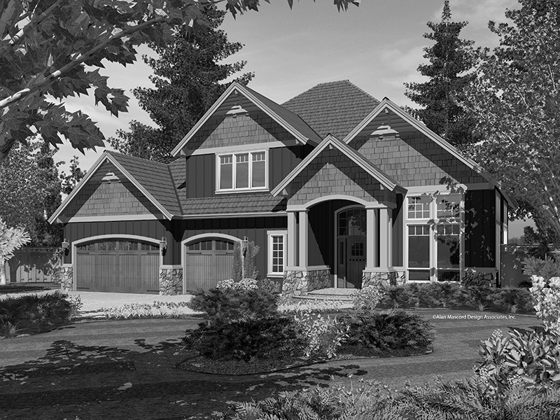 Country House Plan Front Image of House - Indian Ridge Rustic Home 011D-0238 | House Plans and More