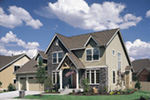 Craftsman House Plan Front Photo 03 - Dexter Creek Craftsman Home  011D-0239 | House Plans and More