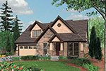 Country House Plan Front Image - Timberway Craftsman Home 011D-0243 | House Plans and More