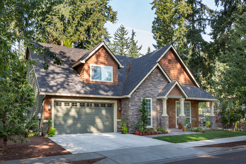 Country House Plan Front of Home - Timberway Craftsman Home 011D-0243 | House Plans and More