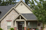 Country House Plan Front Photo of House - Timberway Craftsman Home 011D-0243 | House Plans and More
