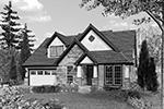 Country House Plan Front Image of House - Timberway Craftsman Home 011D-0243 | House Plans and More