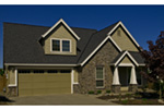 Country House Plan Front Photo 10 - Timberway Craftsman Home 011D-0243 | House Plans and More