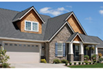 Country House Plan Front Photo 05 - Timberway Craftsman Home 011D-0243 | House Plans and More