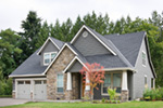 Country House Plan Front Photo 08 - Timberway Craftsman Home 011D-0243 | House Plans and More