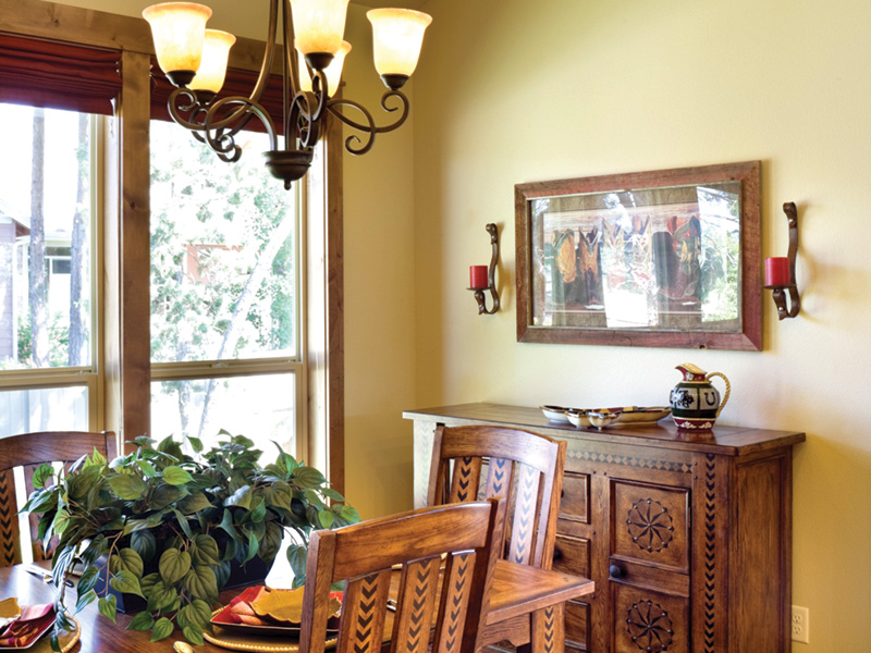 Country House Plan Dining Room Photo 01 - Edie Hill Craftsman Home 011D-0246 | House Plans and More