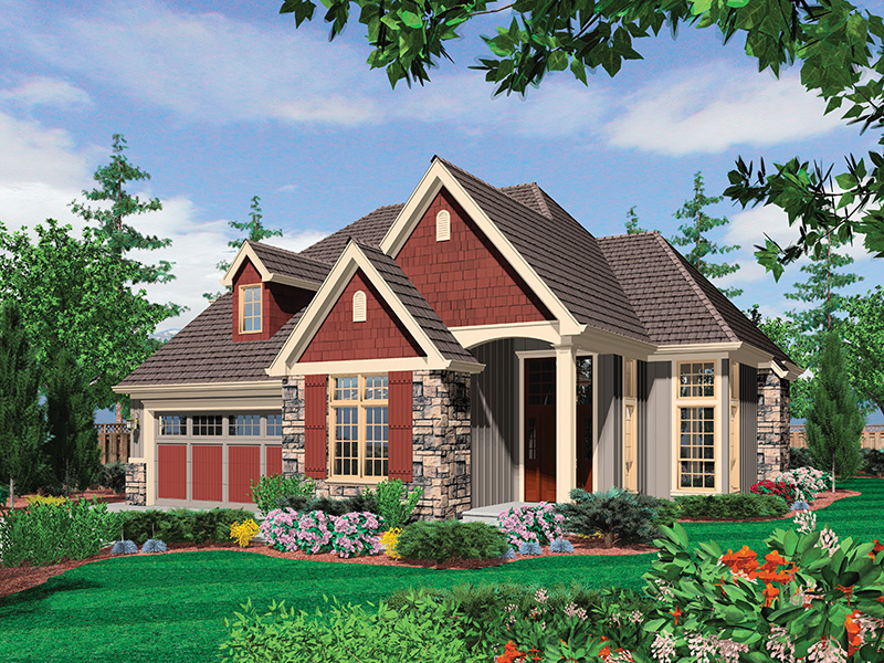 Country House Plan Front Image - Edie Hill Craftsman Home 011D-0246 | House Plans and More