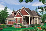 Craftsman House Plan Front Image - Edie Hill Craftsman Home 011D-0246 | House Plans and More
