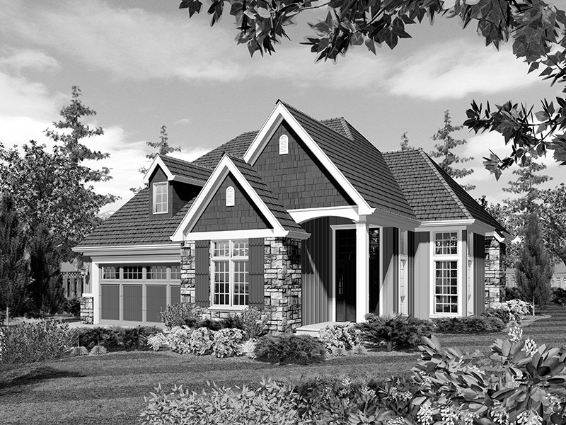 Craftsman House Plan Front Image of House - Edie Hill Craftsman Home 011D-0246 | House Plans and More