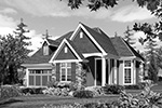 Country House Plan Front Image of House - Edie Hill Craftsman Home 011D-0246 | House Plans and More