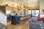 Country House Plan Kitchen Photo 01 - Edie Hill Craftsman Home 011D-0246 | House Plans and More