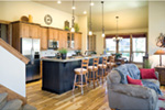 Country House Plan Kitchen Photo 02 - Edie Hill Craftsman Home 011D-0246 | House Plans and More