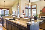 Rustic Home Plan Kitchen Photo 03 - Edie Hill Craftsman Home 011D-0246 | House Plans and More