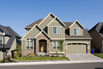 Craftsman House Plan Front of Home - Barker Woods Rustic Tudor Home 011D-0248 | House Plans and More