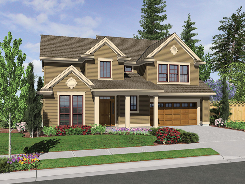 Country House Plan Front Image -  011D-0249 | House Plans and More
