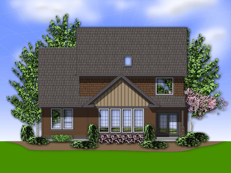 Traditional House Plan Color Image of House - Marney Rustic Tudor Home 011D-0250 | House Plans and More