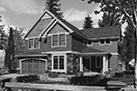 European House Plan Front Image of House -  011D-0252 | House Plans and More