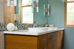 Contemporary House Plan Bathroom Photo 01 - Juno Modern Home 011D-0266 | House Plans and More