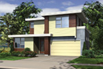 Contemporary House Plan Front Image - Juno Modern Home 011D-0266 | House Plans and More