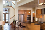 Contemporary House Plan Kitchen Photo 02 - Juno Modern Home 011D-0266 | House Plans and More