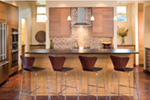 Contemporary House Plan Kitchen Photo 05 - Juno Modern Home 011D-0266 | House Plans and More