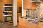 Contemporary House Plan Kitchen Photo 08 - Juno Modern Home 011D-0266 | House Plans and More