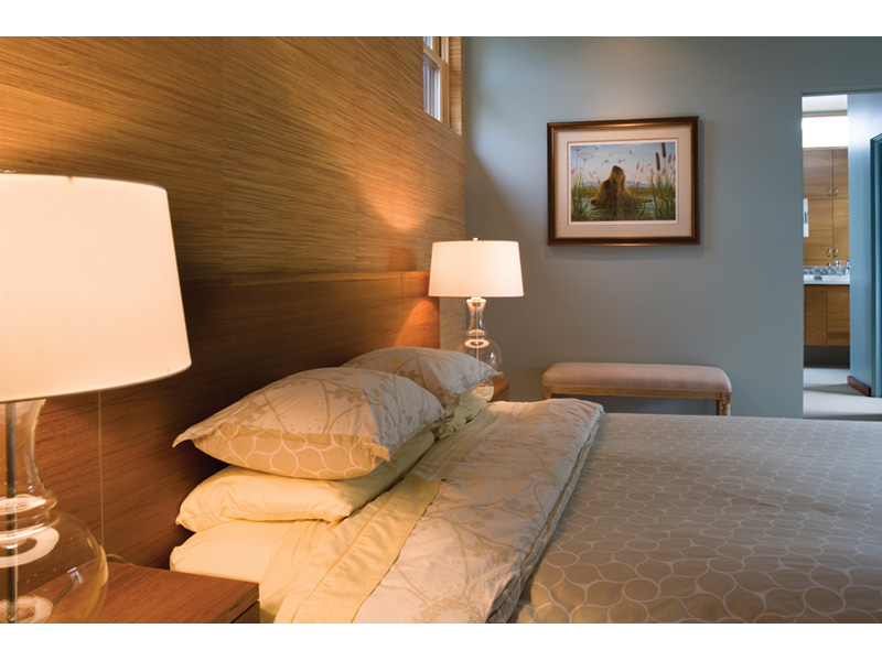 Contemporary House Plan Master Bedroom Photo 01 - Juno Modern Home 011D-0266 | House Plans and More